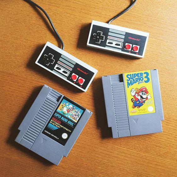 Nintendo NES! With Super Maaaario