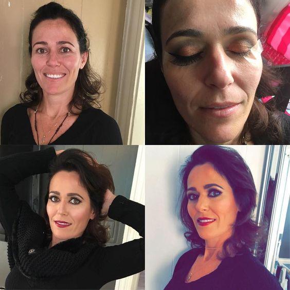 #makeupbyme #brasiliangirl @karin_rlpr  eu gostei de maquiar voce by sujynchiki
