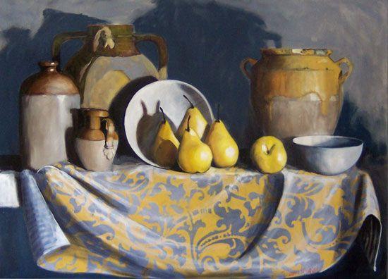 Diana Watson Via CondottiOil on Canvas 122 x 152 cm: