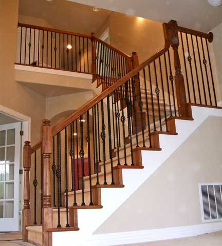 Best Stair Railing Railings And Newel Posts On Pinterest 400 x 300