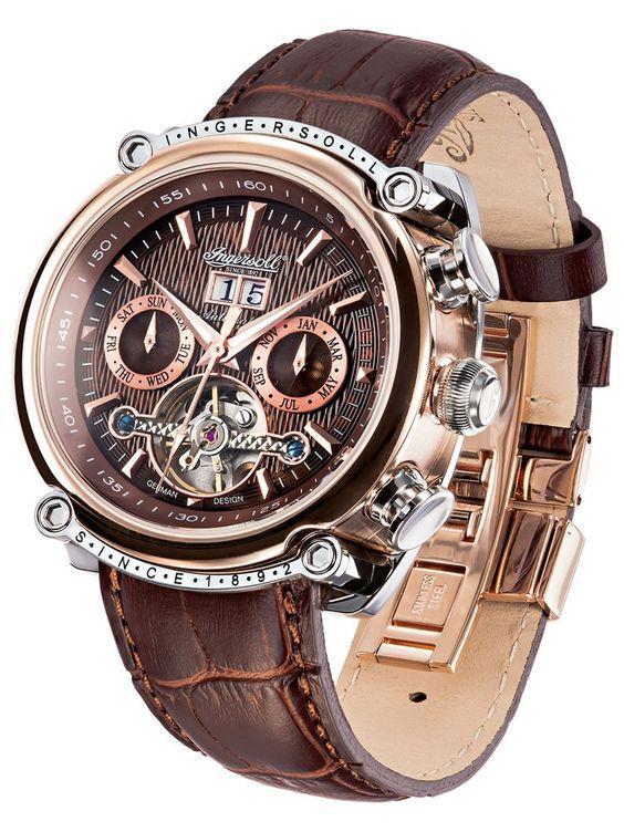 Ingersoll Mens watch »IN6909RBR« @Timeshop24