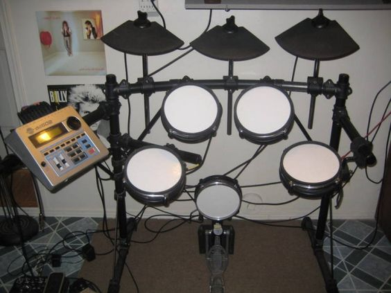 electric drum set music instruments and drum sets for sale on pinterest. Black Bedroom Furniture Sets. Home Design Ideas
