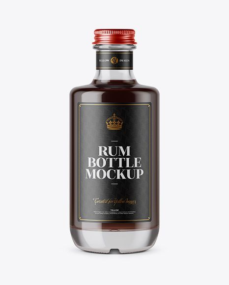 Download Black Rum Bottle Mockup In Bottle Mockups On Yellow Images Object Mockups Bottle Mockup Mockup Free Psd Rum Bottle PSD Mockup Templates