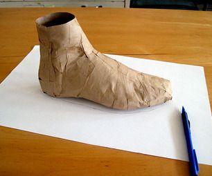 Moulage para fazer sapatos