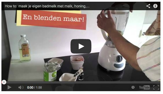 How to make bath milk with products from your kitchen cabinet