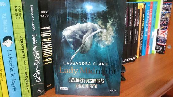 """""""Lady Midnight"""" escrito por Cassandra Clare.:"""