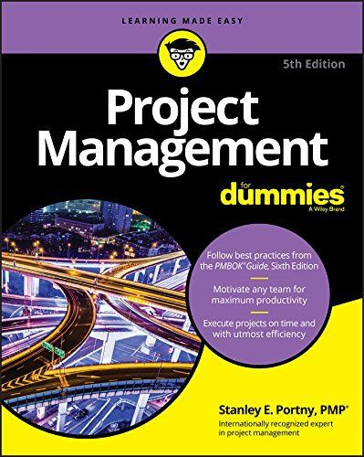 Project Management For Dummies 5th Edition Pdf With Images