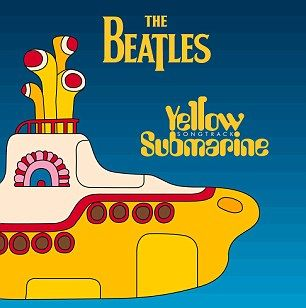 The cover of the soundtrack album to Yellow Submarine