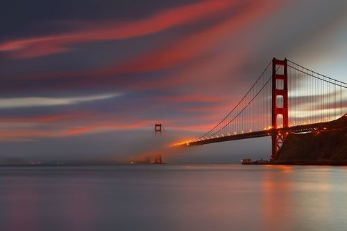 I Thought This was a Pretty Neat Picture of the Golden Gate Bridge. - Imgur