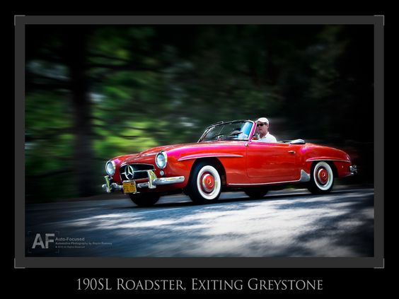 A late Spring Sunday afternoon jaunt in a 190SL...