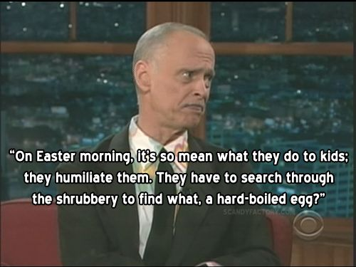 Easter truth from John Waters.