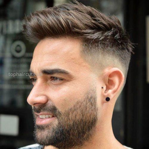 Bald Fade With Beard Bald Fade With Beard Http Www Tophaircuts Us 2017 11 25 Bald Fade With Beard Mens Haircuts Fade Beard Fade Fade Haircut Styles