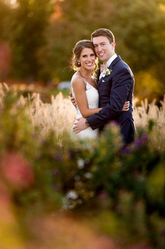 Saint Louis Wedding Wedding Photos by Saint Louis Wedding Photographer, Ashley Fisher Photography, Bride and Groom Sunset Portrait in Forest Park, St. Louis, MO #weddingposes