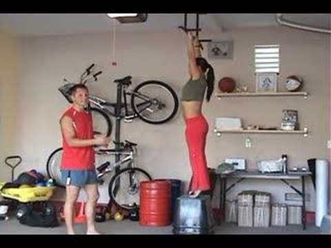 Tips for Women's Pull Up Power | Franz & Yoana Snideman. i've been working on dead hang pull ups. tough!