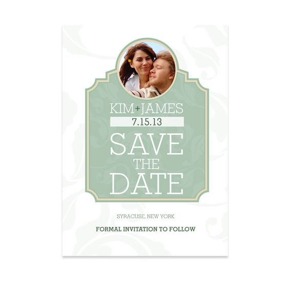 Great wedding save the date idea