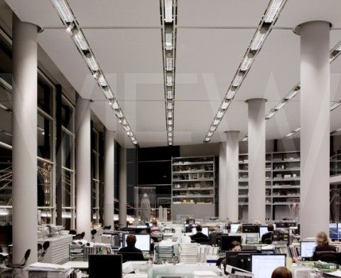 norman foster office. Office Tour: Inside Foster + Partners Headquarters | Open Plan, High Windows And Workspace Norman .