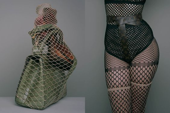 """Valerie Steele, """"The Sinful Symbology of the Fishnet,"""" CR Fashion Book (February 2016)."""