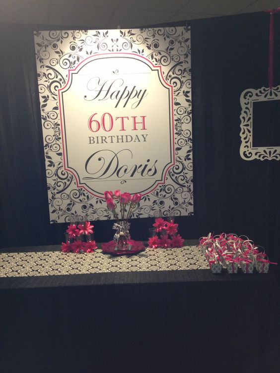 60th birthday for mom 60th birthday Pinterest