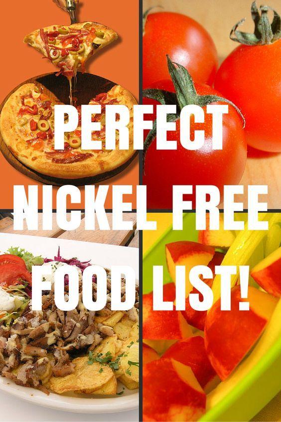 Guide To A Low Nickel Diet Alimentos Comida Alergias