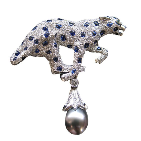The Cartier panther is a magnificent motif