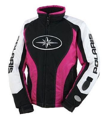 Polaris women 39 s diva snowmobile jacket magenta oem new on ebay snowmobiles pinterest - Diva pants ebay ...
