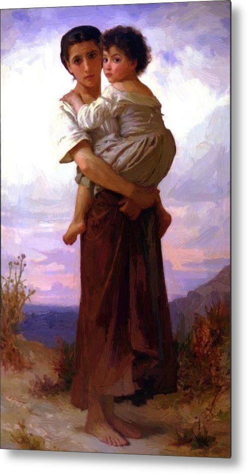 "/""Rest/"" — Giclee Fine Art Print 1879 William-Adolphe Bouguereau"