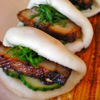 Steamed Pork Buns (Gua Bao). Star Noodle. Maui. Cant wait to try these tonight!
