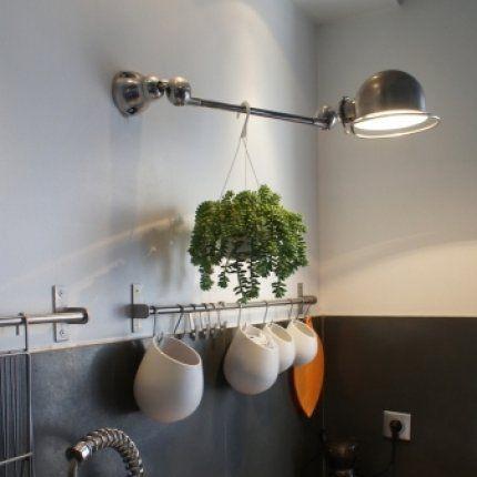 Id e clairage cuisine appartement laura pinterest maison lieux et paris - Idee eclairage cuisine ...