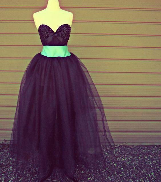 Prom dress??? :D Plus Size Floor Length Adult Tulle Tutu Skirt by darkponydesigns, $250.00