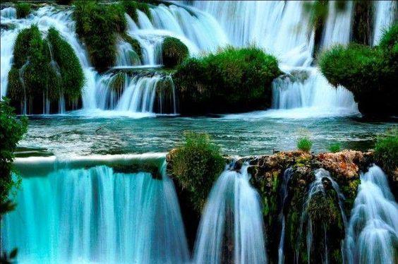 cascadas de Krka Parque Nacional de Krka (Sibenik), un oasis en Croacia