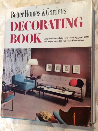 Better Homes & Gardens Decorating Book 1956 by Vintageroyaleny on Etsy https://www.etsy.com/listing/503565253/better-homes-gardens-decorating-book