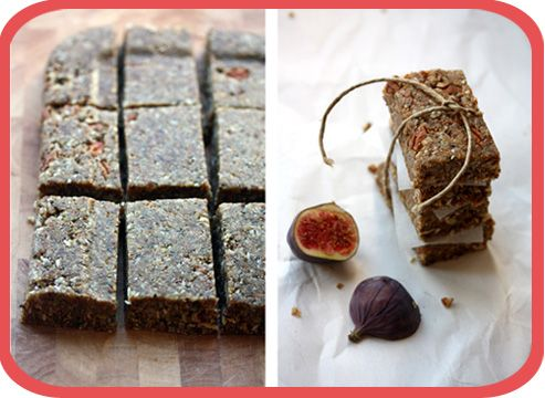 Fig & Pecan Energy Bars