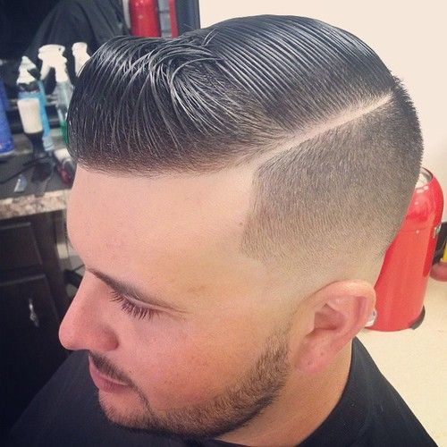 Hard Part, Barber Shop And Men Hair On Pinterest