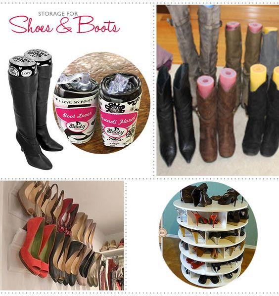 Blog | Lousje & Bean Boutique #closet #organize #shoes #boots