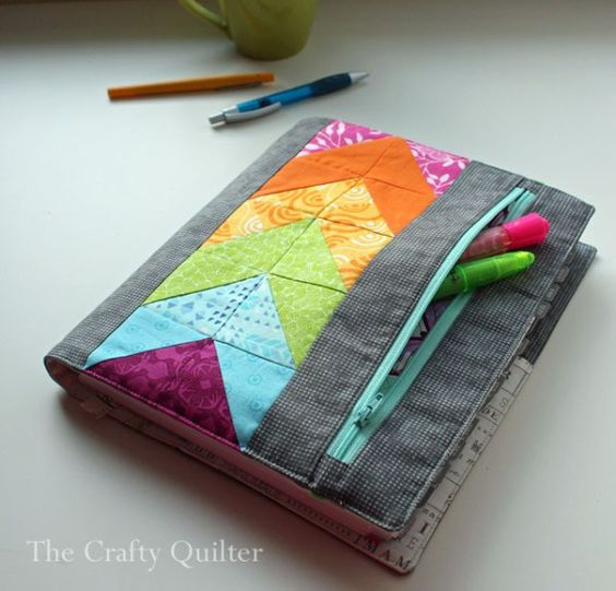 My Zippy Quilter's Planner Cover - The Crafty Quilter