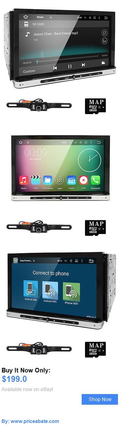 Vehicle Electronics And GPS: 7 Smart Android 4.4 3G Wifi Double 2Din Car Radio Stereo Dvd Player Gps Camera BUY IT NOW ONLY: $199.0 #priceabateVehicleElectronicsAndGPS OR #priceabate