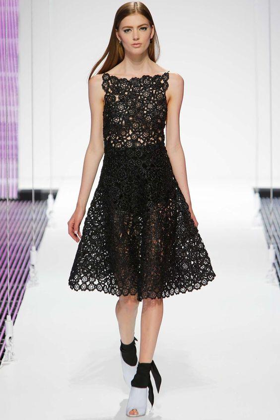 Christian Dior Resort 2015 Fashion Show - Emmy Rappe