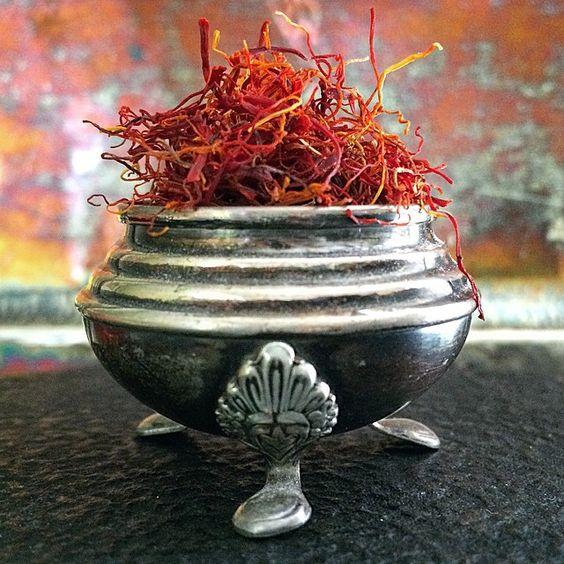 Mmmmmmm... saffron.