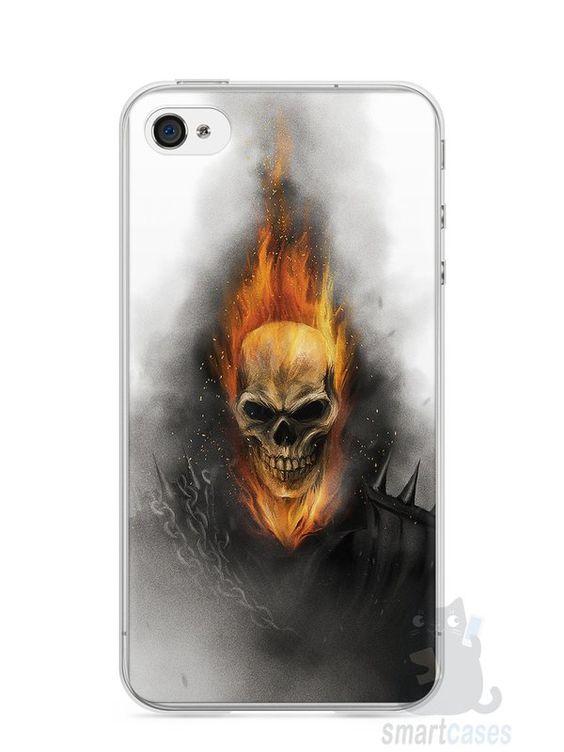 Capa Iphone 4/S Motoqueiro Fantasma - SmartCases - Acessórios para celulares e tablets :)
