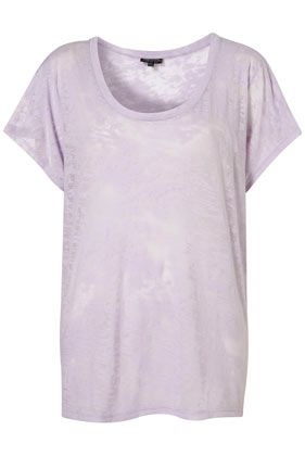 Burnout Tee in Spring's perfect pastels