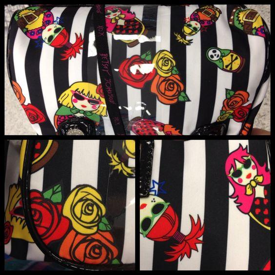 Betsey Johnson bag nail inspiration
