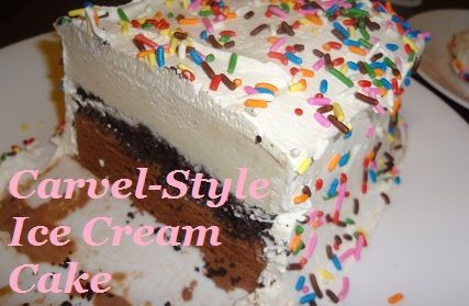 Like a Carvel Ice Cream Cake but better?