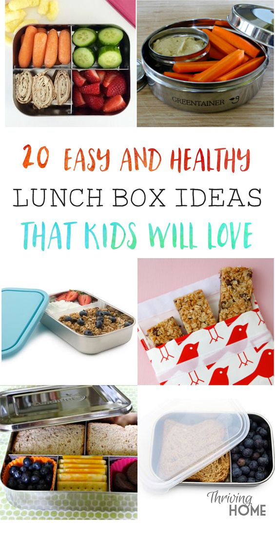 """Delicious mostly """"real food"""" lunch box ideas that your kids will actually eat and are a snap to put together! So many on-the-go healthy lunch ideas I never would have thought to include."""