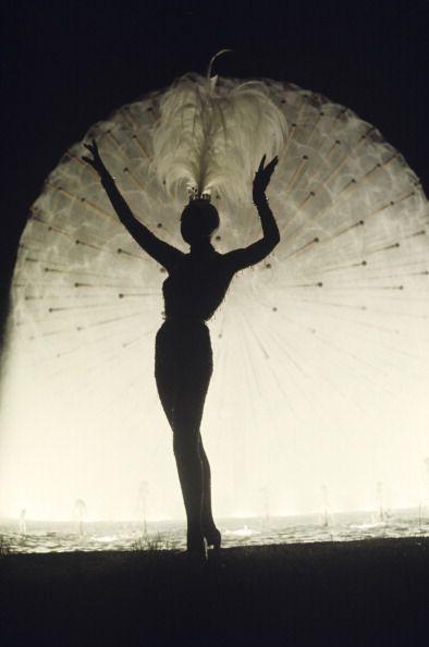 Joséphine Baker in Monte Carlo by Jack Garofalo, 1974.: