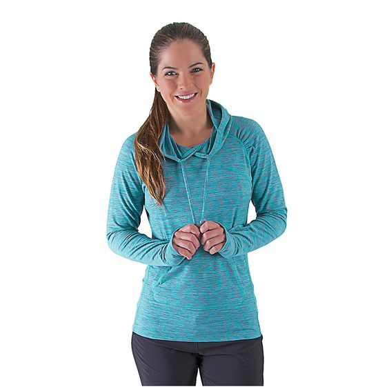 Cozy up to your new favorite top with the new Womens Road Runner Sports On the Move Printed Hoodie