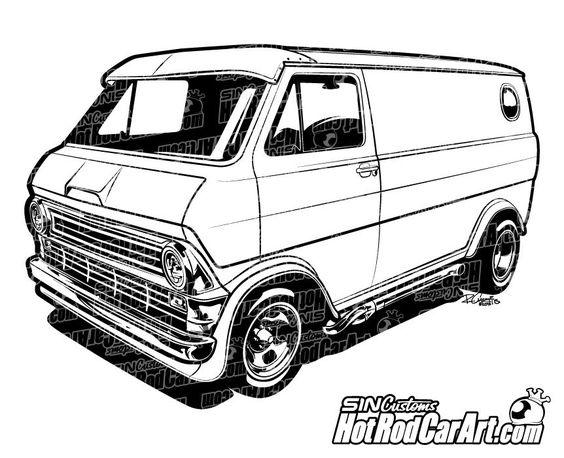 cars  van and custom vans on pinterest