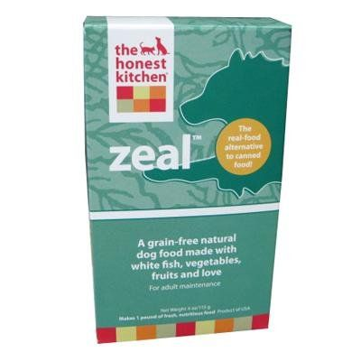 Honest Kitchen Zeal, Grain-Free Dehydrated Raw Dog Food w/ Wild-Caught White Fish, 4oz « dogsiteworld.com