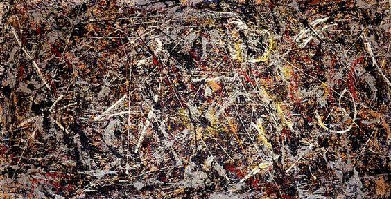 Пол Джексон Поллок. «№ 5, 1948». 1948 г. продана за 140 млн долларов мексиканскому финансисту Дэвиду Мартинесу.