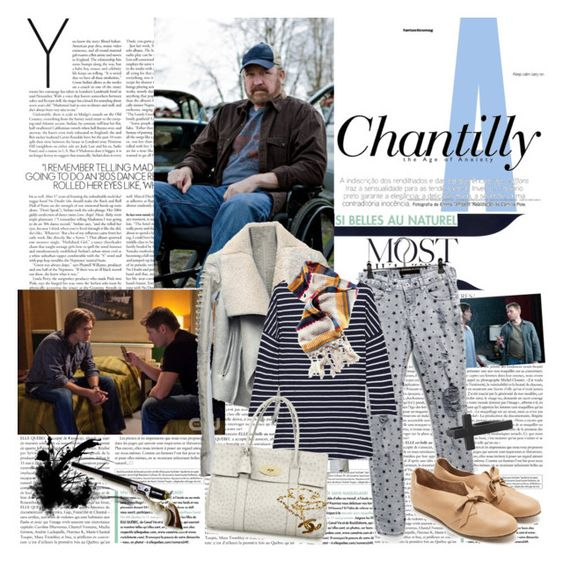 """""""Supernatural: Bobby Singer"""" by sub-marine-mission ❤ liked on Polyvore featuring Rick Owens, Juicy Couture, H&M, Lanvin, Mulberry, Forever 21, Chanel, women's clothing, women's fashion and women"""