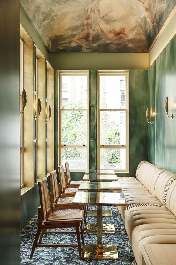 Blanche, le nouveau club privé à Paris comprenant un restaurant mené par Jean Imbert une piscine, une salle de sport et un cinéma | Vogue